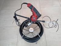 Roto Cleaning Aspo sonda ruotante con trapano. Asta spinta 8 mt