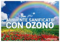 SEGNALE DI SICUREZZA - SANIFICAZIONE CON OZONO